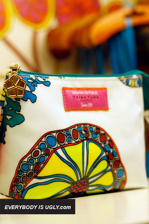 white Trina Turk bag