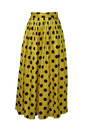 yellow vintage skirt
