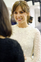 Interview with Jessica Stroup at H&M's Conscious Collection Launch