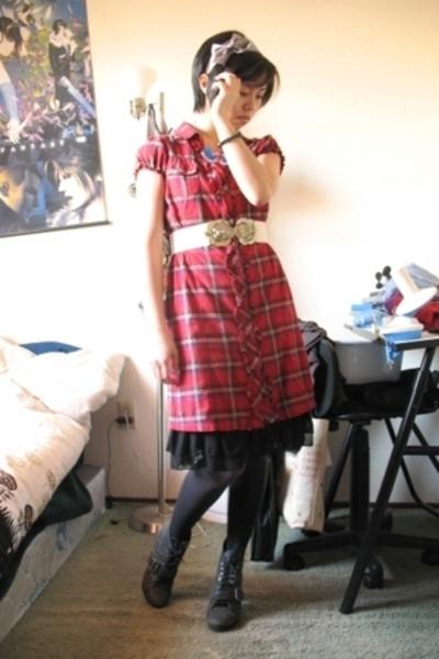 Target dress - seychelles shoes - dress - H&M belt