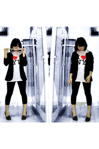Ayuka blazer - shirt - - Lovellipops scarf