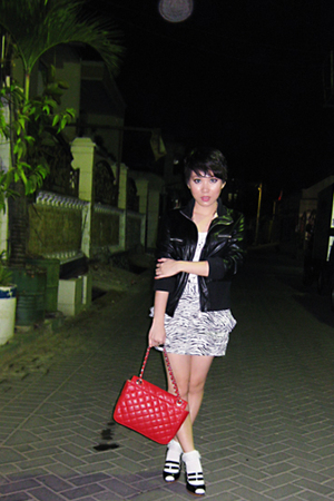 jacket - Mango shirt - skirt - purse - socks - Charles & Keith shoes