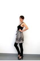 blue Simones Rose skirt - black Simones Rose leggings - black Winners purchase t