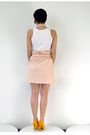 Beige-simones-rose-skirt-white-american-apparel-top-yellow-aldo-shoes-silv