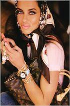 Louis Vuitton scarf - Louis Vuitton purse - hello kitty accessories