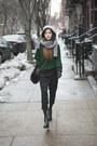 Green-romwe-sweater-silver-sheinside-sweater
