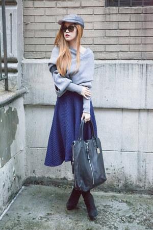 silver Sheinsidecom sweater