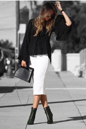 blazer Zara belt