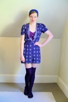 vintage dress - Urban Outfitters swimwear - H&M socks - Steve Madden shoes - DIY