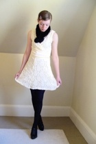DIY dress - Secondhand accessories - CVS tights - Nine West shoes - vintage acce