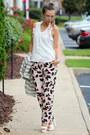 White-stripes-river-island-blazer-white-zappos-heels-white-forever-21-blouse