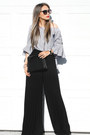 Black-prada-sunglasses-white-sheinside-top-black-farfetch-pants