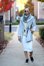 Gray Oasap Trend Coat