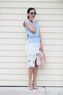 Light-pink-asos-bag-light-blue-blackfive-top-beige-milanoo-pumps