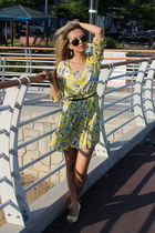 yellow Forever21 dress