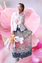 light pink kpopsicle blouse