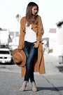 Orange-lyli-lulu-coat-navy-2020ave-jeans-camel-lulus-hat