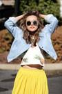 Yellow-queenhorsfall-closet-skirt