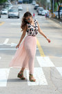Light-pink-forever-21-skirt-light-pink-printed-blackfive-top