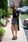 Black-lace-stylenanda-coat-black-stylenanda-top-black-zappos-sandals