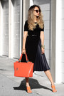 Orange-nuciano-bag-black-jcrew-skirt-black-sans-souci-top