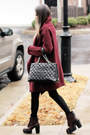 Brick-red-shellys-london-boots-teal-french-connection-sweater