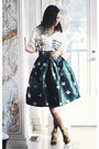 Green-chicwish-skirt