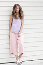 Light-purple-viparo-top-light-pink-chicwish-pants