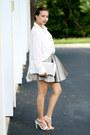 White-haute-rogue-blouse-silver-haute-rogue-skirt