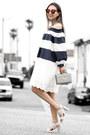 White-chicwish-dress-silver-poupee-de-papier-bag