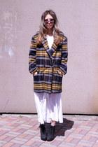 bronze wool Choies coat