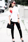 Black-karmaloop-jeans-black-lulus-necklace-black-nina-shoes-heels