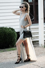Silver-lulus-dress-ruby-red-zerouv-sunglasses-gold-trendhood-necklace