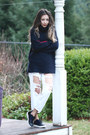 Navy-shellys-london-shoes-navy-blackfive-sweater
