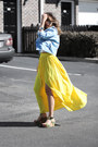 Yellow-queenhorsfall-closet-skirt