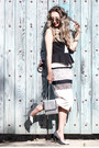 Black-n12h-dress-silver-nordstrom-sunglasses-silver-nina-shoes-heels