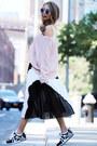 Light-pink-lulus-sweater-black-toulula-skirt-white-wannab-k-sneakers