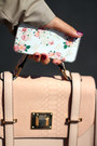 Beige-yoins-collection-coat-white-floral-print-oasap-iphone-case