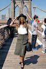 Black-forever-21-hat-black-dynamite-bag-green-polette-sunglasses