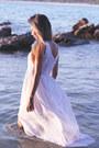 White-maxidress-dress