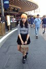 Black-cutout-jeffrey-campbell-boots-light-orange-beanie-carhartt-hat