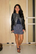 H&M jacket - Forever 21 shorts - tory burch sandals