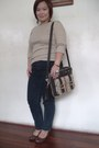 Brown-bag-dark-brown-keds-wedges-black-jumper