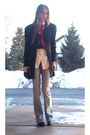 Black-nordstrom-shoes-blue-bigstar-jeans-black-thrifted-vintage-blazer