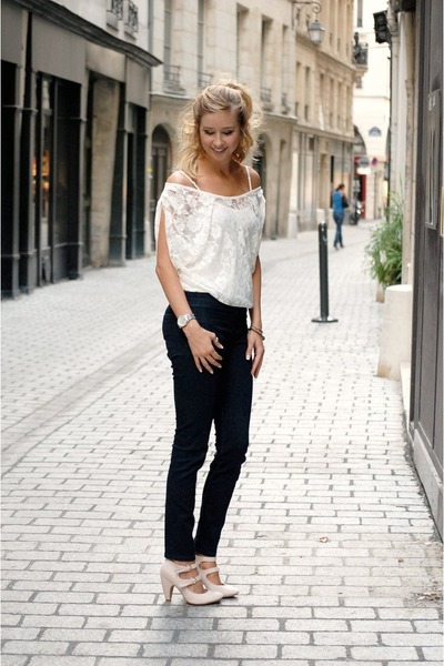 Wet Seal shirt - Urban Outfitters pants - Urban Outfitters heels