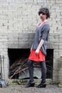 Red-gap-dress-gray-express-sweater-gray-target-tights-black-franco-sarto-w