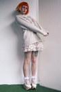 Off-white-bodyline-shoes-off-white-vintage-sweater-white-bodyline-shorts