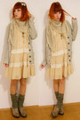Eggshell-modcloth-dress-ivory-c-a-sweater-beige-crochet-diy-scarf