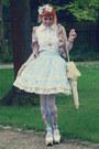 Ivory-bodyline-shoes-light-blue-bodyline-skirt
