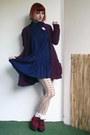Crimson-h-m-shoes-navy-new-yorker-dress-nude-terranova-tights